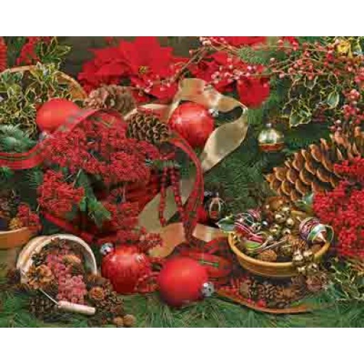 Springbok Colors Of Christmas 2000 Piece Puzzles