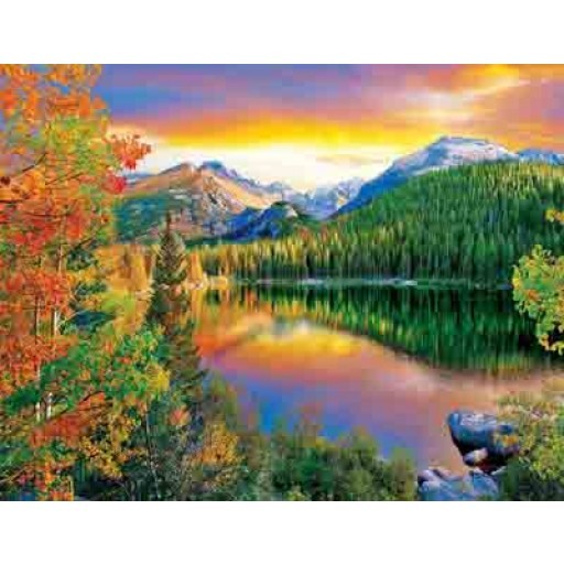 Springbok Bear Lake 500 Piece Puzzles