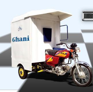 Ghani Cabin rickshaw vehicle