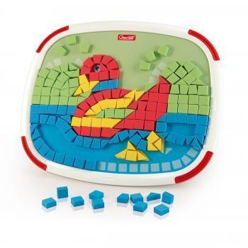 Quercetti Mini Mosaico magnetic double-faced toy
