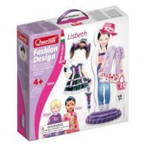 Quercetti Fashion Design Lisbeth magnetic dress-up doll