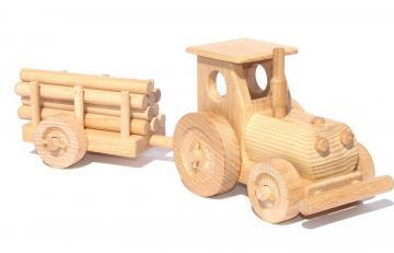 Ceeda Cavity Farm Tractor and Trailer I (small) toy