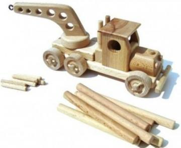 Ceeda Cavity Tow Truck + Timber Truck toy