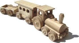 Ceeda Cavity Railway Coach + Coal Car toys