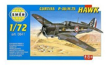 SMER Curtiss P-36/H.75 Hawk scale model