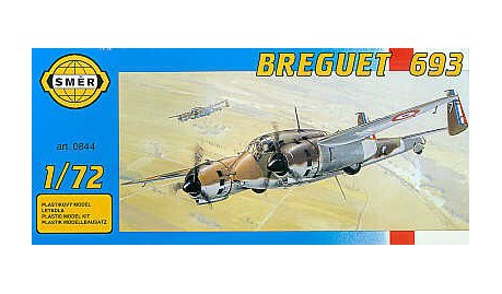 SMER Breguet 693 scale model