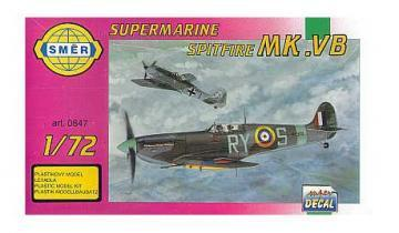 SMER Supermarine Spitifire Mk.Vb scale model