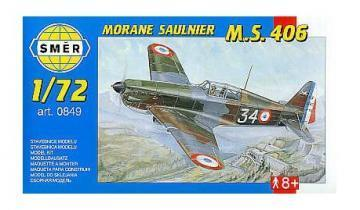 SMER Morane Saulnier MS 406 scale model