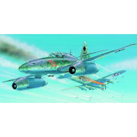 SMER Messerschmitt Me 262 A-1a scale model