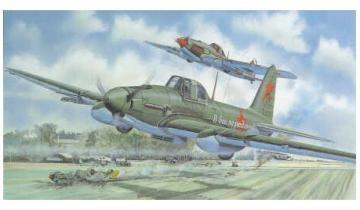 SMER Ilyushin Il-2 scale model