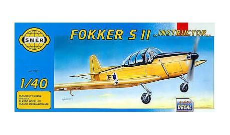 SMER Fokker S 11 Instructor scale model