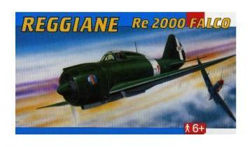 SMER Reggiane RE 2000 Falco scale model
