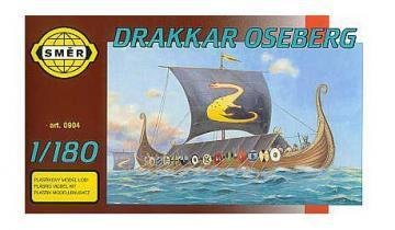 SMER Drakkar Oseberg ship scale model