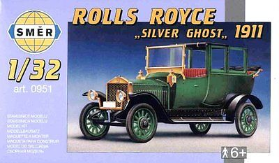 SMER Rolls Royce - Silver Ghost 1911 scale model