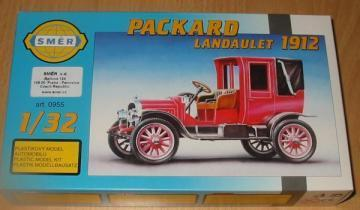 SMER Packard Landaulet 1912 scale model