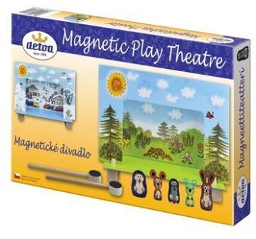 DETOA Magnetic Theatre Krtecek toy