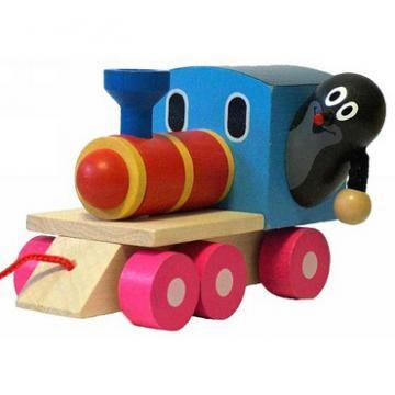 DETOA Krtecek On A Steam Engine toy