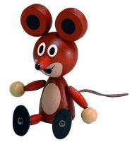 DETOA Wooden Doll Mouse