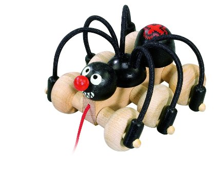 DETOA Black Spider toy