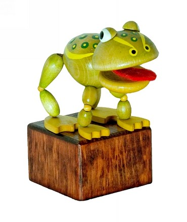 DETOA Press Up Male Frog toy