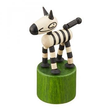 DETOA Press Up Mini Zebra toy