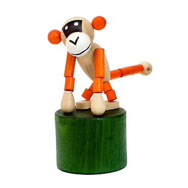 DETOA Press Up Monkey toy