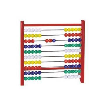DETOA Abacus Wood And Plastic red  toy
