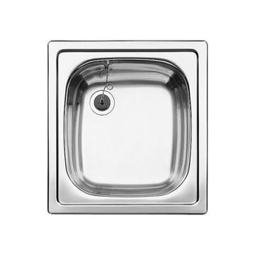 Blanco BLANCOTOP EE 4 x 4 Sink stainless steel nature finish