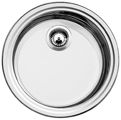 Blanco BLANCORONDOSOL Sink stainless steel brush finish