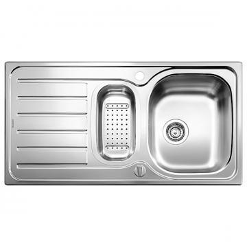 Blanco BLANCOLANIS 6 S inset sink, stainless steel brushed finish