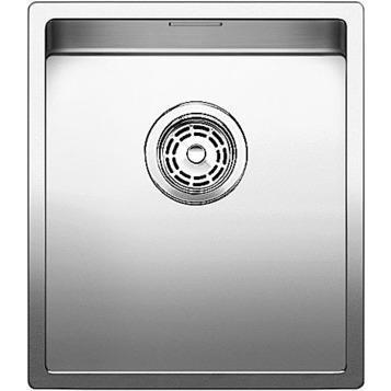 Blanco BLANCOCLARON 340-IF/N, stainless steel satin polish sink