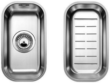 Blanco BLANCOSUPRA 180-U, undermount sink, stainless steel