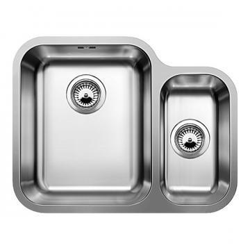 Blanco BLANCOYPSILON 550-U, undermount sink, stainless steel