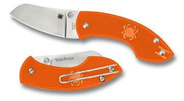 Spyderco Pingo Orange knife