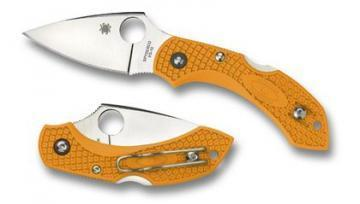 Spyderco Dragonfly Orange FRN knife