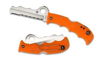 Spyderco Assist Orange FRN knife