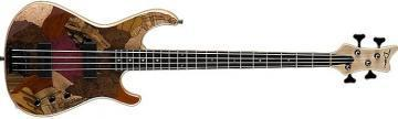Dean USA JEFF BERLIN PATCHWORK Bass Guitar