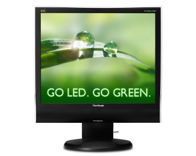 "Viewsonic VG732m-LED 17"" 4:3 LED monitor WITH Energy Star"