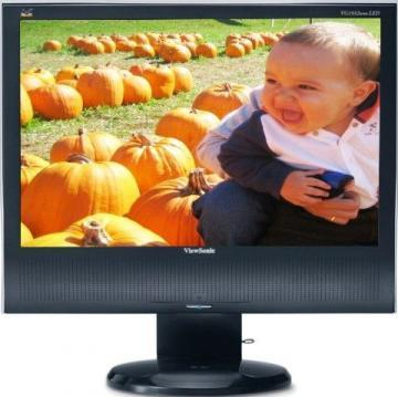 "Viewsonic VG1932WM-LED 19"" Black Widescreen LED with speakers"