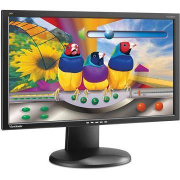 "Viewsonic VG2428WM-LED 24"" (23.6"" Vis) Ergonomic LED Monitor"