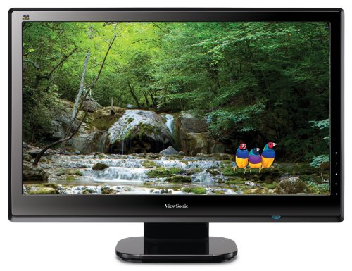 "Viewsonic VX2453MH-LED 24"" (23.6"" vis) Black Widescreen LED monitor"