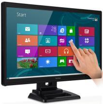 "Viewsonic TD2420 24"" Windows 8 compatible Multi-touch LED monitor"
