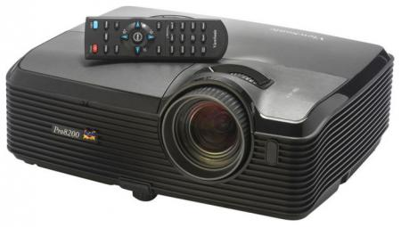 Viewsonic PRO8200 1080p Full HD DLP Home Entertainment Projector, 2000 lumens, 4