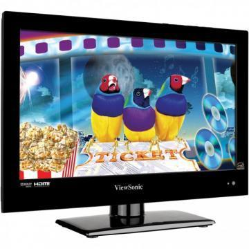 "Viewsonic VT1601LED 15.6"" Edge White HD LED TV"