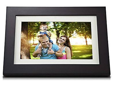 "Viewsonic VFD1028W-31 10.1"" Digital Photo Frame with LED backlight"