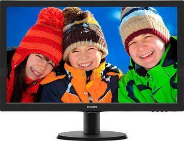 "Philips 243V5 24"" Full HD LED PC Display"