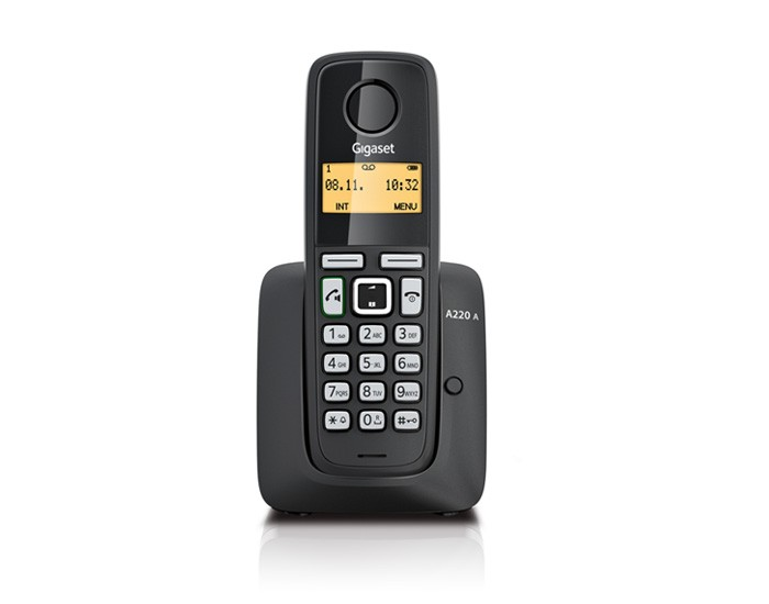 Gigaset A220A Cordless Phone with Answering Machine