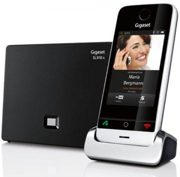 Gigaset SL910A Cordless Phone with Touch Screen