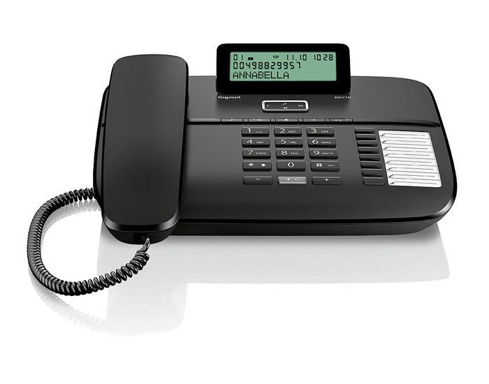 Gigaset DA710 Corded Phone with Answering Machine