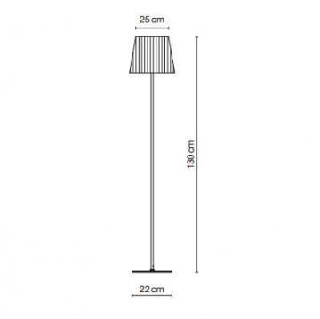 Marset Cotton R Floor Lamp